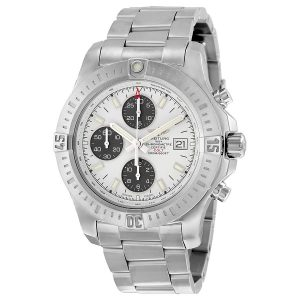 The excellent watches fake Breitling Colt A1338811 have white dials, luminant hour marks and hands and date windows.