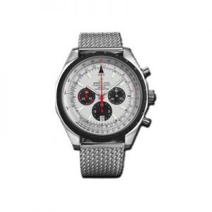 The 49 mm replica Breitling Chronomatic 49 A14360 watches have silvery dials.