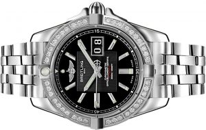 The 41 mm replica Breitling Galactic A49350LA watches are designed for men.