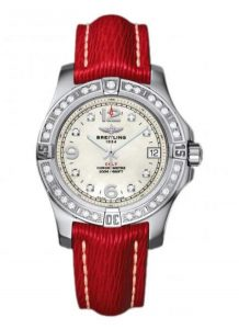 The sturdy watches Breitling Colt A7438953 are made from stainless steel.