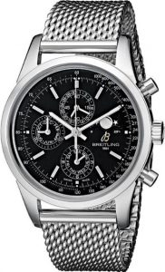 The water resistant fake Breitling Transocean A1931012 watches are made from stainless steel.