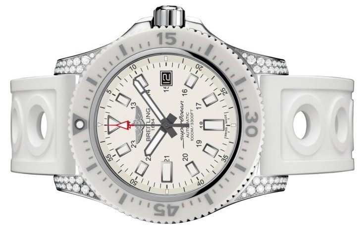 The durable replica Breitling Superocean Y1739367 watches can guarantee water resistance to 1,000 meters.