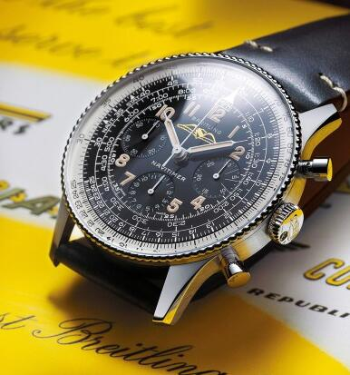 In addition to the movement, all the details are the same with the original Navitimer.