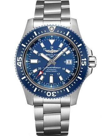 Blue is really a charming color on the diving watches for summer.