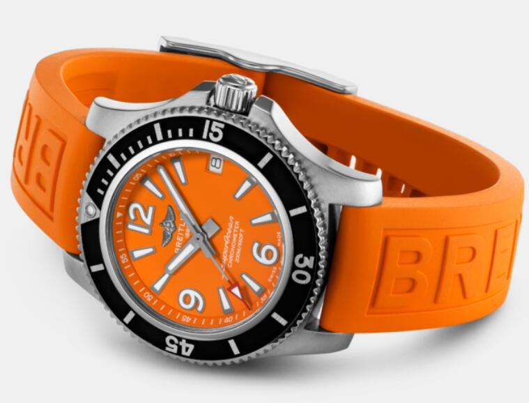 New-selling reproduction watches online have evident orange color.