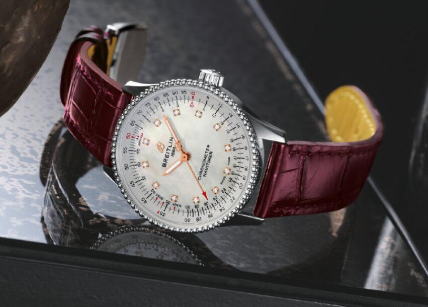 AAA replication watches are evident for the burgundy color.