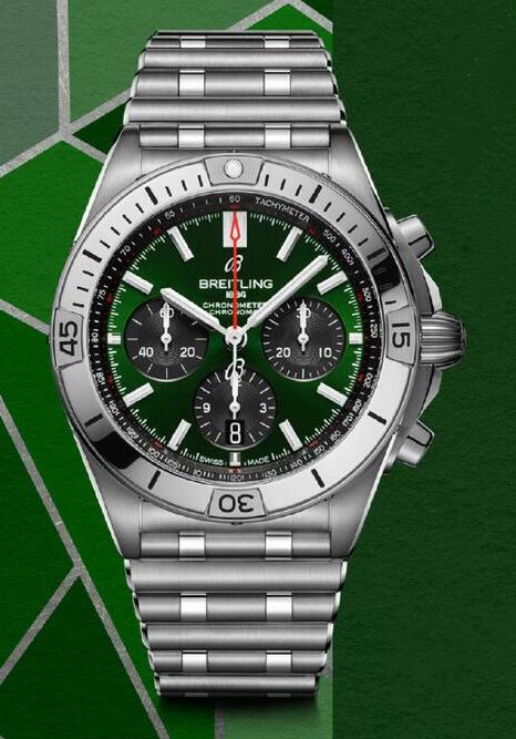 AAA replication watches are obvious with green dials and black sub-dials.