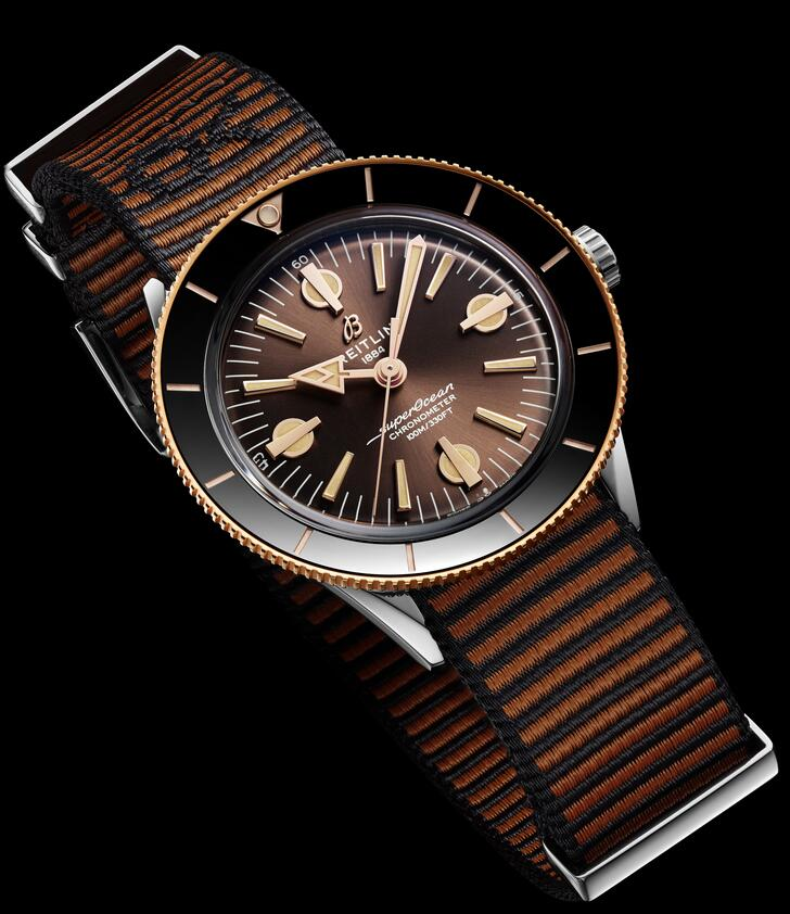 AAA replica watches are presented with 42mm in diameter.